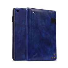 RockWolf iPad 9.7 2017/2018/iPad 5 universal case Multi-function PU leather large capacity flat cover