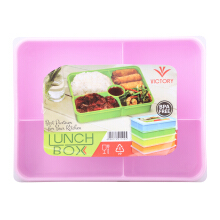 VICTORYHOME Lunch Box 1600ml - Peach