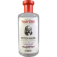 Thayers Witch Hazel Aloe Vera Formula Alcohol Free Toner Lavender 12 fl oz 355 ml