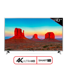 LG Smart LED TV 43 Inch 4K UHD Digital - 43UK6500