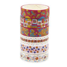 WIGGLE Cupcake Set Of 6 Adhesive Tapes