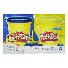 PLAYDOH Grab N Go Compound Bag Blue And Green PDOE2241