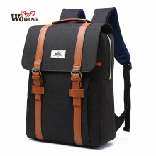 Fireflies B0364 USB charging / original Korean fashion men's backpack / multi-function laptop bag