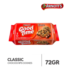 GOOD TIME Classic Chocochips Cookies 72gr