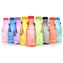 Blooming - Botol Minum Soda Clear Bpa Free Anti Tumpah - 550 ML (COLA)