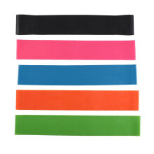 Elastic Resistance Bands Gym Fitness Training Yoga 5 Level Exercise Loop Bands Multicolor