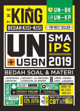Penerbit Forum Edukasi - The King : Bedah Kisi- Kisi UN SMA IPS 2019 - Forum Tentor 9786025454264