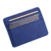 Jantens Fashion Women Lichee Pattern Bank Credit Card Holder