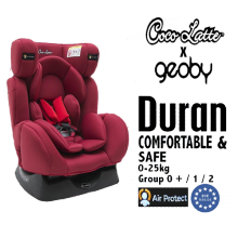 COCOLATTE GEOBY Car Seat CL 858 Duran - Berry Red