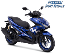 Yamaha Aerox 155 VVA GP -Version