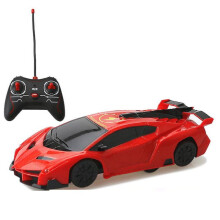 Real Bubee New Remote Control RC Climbing Wall Car with Cool Light RED