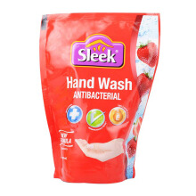 SLEEK Handwash Strawberry Refill Pouch 400ml