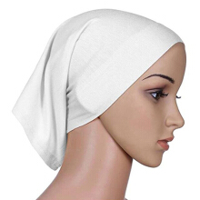 Farfi Muslim Islamic Solid Cotton Hijab Head Scarf