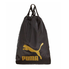 PUMA Originals Gym Sack -  Black-Gold [One Size] 7481209