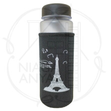 NA My Bottle Botol Minum Motif Paris Frosted Doff 500ml