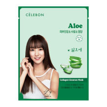 CELEBON ALOE Collagen Essence Mask