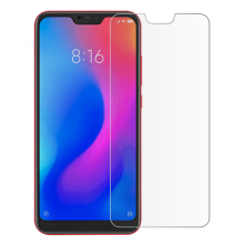 MOONMINI for  1 Pack Tempered Glass Screen Protector Film Anti-Scratch Screen Cover for Xiaomi Mi A2 Lite / Redmi 6 Pro As Shown