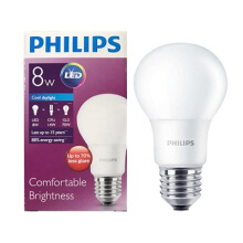 PHILIPS LED BULB 8W CDL E27