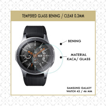 CASA Tempered Glass Samsung Galaxy Watch 42mm / 46mm - Clear 0.3mm