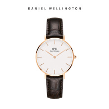 Daniel Wellington Petite Leather Watch York White Eggshell White 32mm