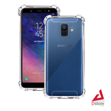 Casing Anti Crack Silicone Softcase SAMSUNG A6 2018 Shock Proof Case - Transparant