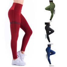 ESG Activewear High Waist Fitness Leggings Women Pants Fashion Patchwork Workout Legging Stretch Slim Sportswear Jeggings