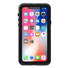 IP68 Waterproof Rear Cover Type Dual-purpose Mobile Phone Case for iPhoneX