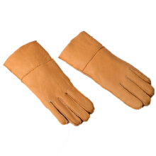 SiYing fashion Cheap men's wool gloves points to the leather outdoor riding