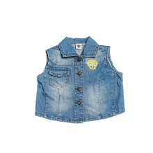 KIDS ICON - Mini Sleeveless Denim with Bordir Tweetie  - LG4S0200180