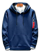 DD Sweater Pria Hodie sweater polos Fleece