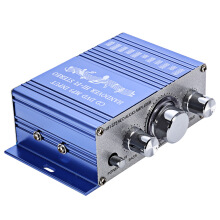 HY - 2001 Mini 2CH Hi-Fi Stereo Output Power Amplifier  Blue