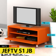 Pro Design Meja Televisi Jef-ORANGE (JEFTV S1 JB)