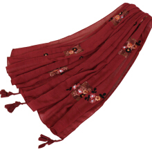 LAVEN urban style high quality embroidered women's scarf