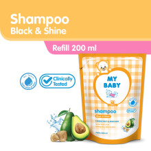MY BABY Shampoo 200 ml - Black & Shine - Pouch