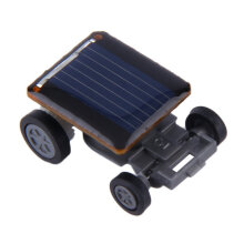 [kingstore] New Mini Solar Powered Racing Car Vehicle Educational Gadget Kids Gift Toy Black