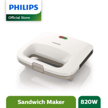PHILIPS Sandwich Press HD2393 - Putih