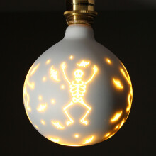 JDWonderfulhouse JDwonderfulhouse E27 G95 Halloween Christmas Decorative Light Bulb 85-265V Single