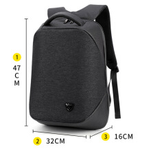 Jantens  ARCTIC HUNTER School backpack laptop backpacks men Waterproof mochila Casual Business Male Bag Travel backpack