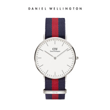 Daniel Wellington Classic Nato Watch Oxford Eggshell White 36mm