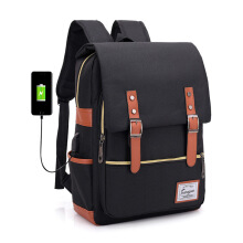 SiYing Korean version of the shoulder bag waterproof USB interface charging smart backpack