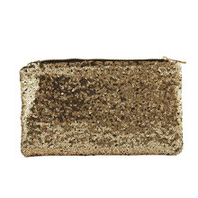 [LESHP]Luxury Design Women Clutch Bag Envelope Evening Party Handbag Full Sequins Black