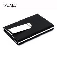 Winmax Brand Black Quality Credit Card Holder Waterproof Cash Money Pocket Black