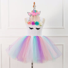 93284 Girls European and American mesh stage performance Party princess dress