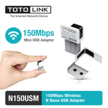 TOTOLINK - N150USM - 150Mbps Wireless N Mini USB Adapter