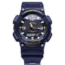 Casio AQ-S810W-2A Sports double display waterproof electronic watch-Blue