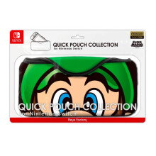 NINTENDO Switch Quick Pouch Super Mario Edition [Luigi Face]
