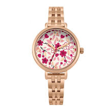 Cath Kidston Red Floral Alloy Ckl037Rgm Women Watch