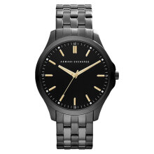 Armani Exchange AX2144 Men Black Dial Grey Stainless Steel Strap [AX2144]