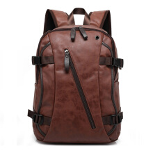 Jantens Oil Wax Leather Backpack Men's Casual Backpack & Travel Bags