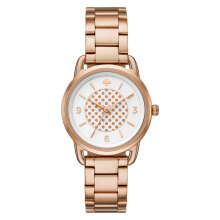 Kate Spade Boathouse Rose Gold KSW1167 White Dial Rose Gold Stainless Steel Strap [KSW1167]